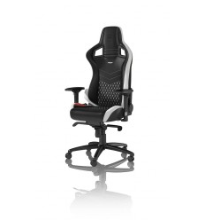 Кресло NOBLECHAIRS EPIC BLACK BLACK/WHITE/RED для геймера